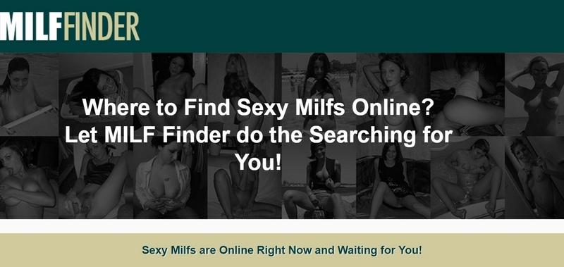 MilfFinder main page