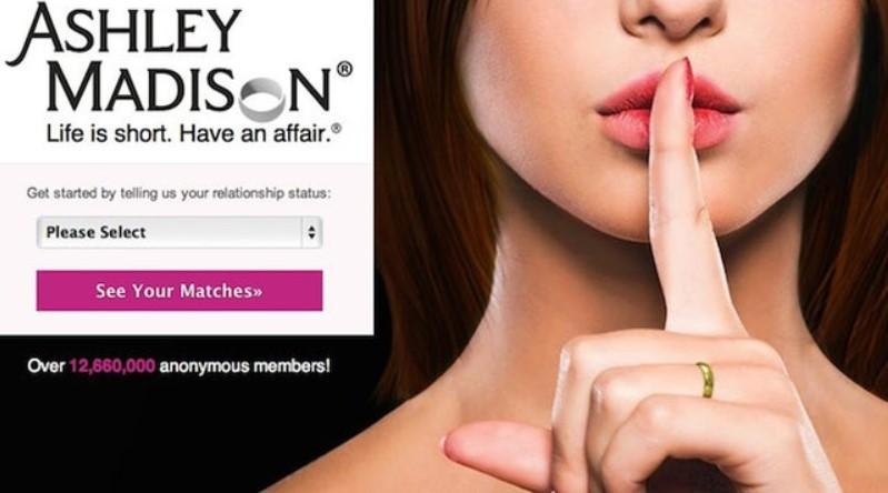 AshleyMadison main page