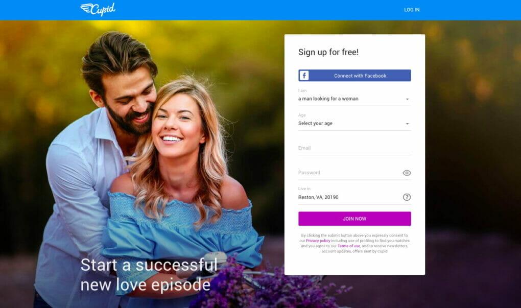 main page Cupid.com
