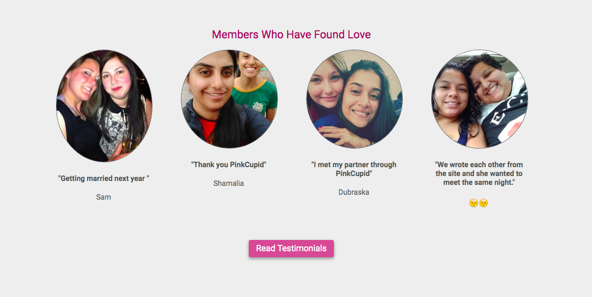 Members Who Have Found Love Pinkcupid