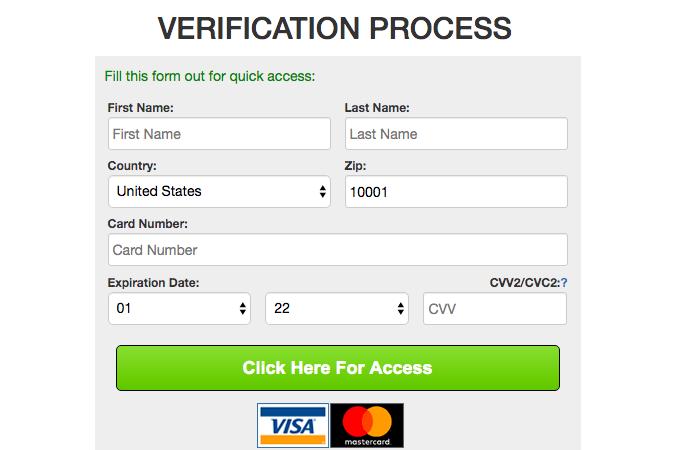 verification process Craigshookup