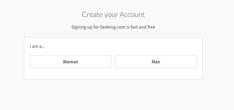 SeekingArrangement create account