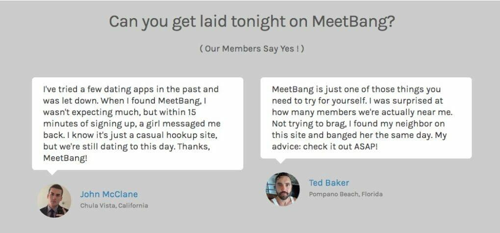 MeetBang testimonials