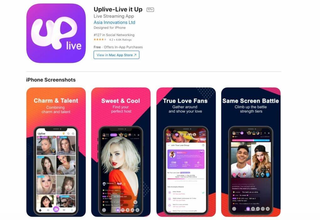Up.live app