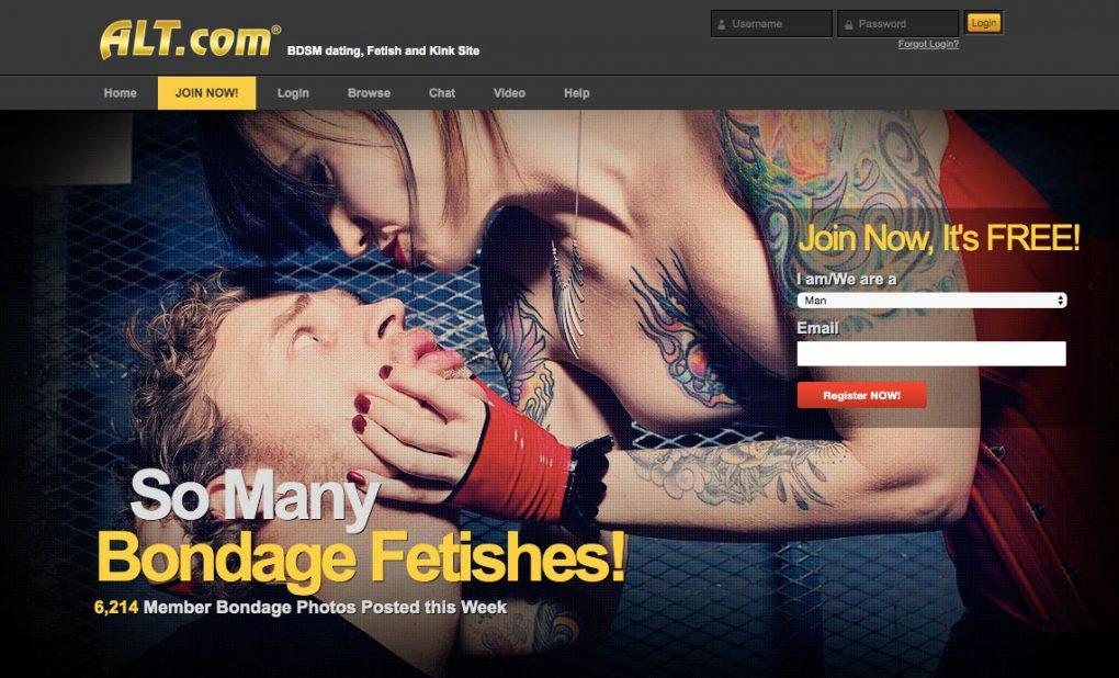 Alt.com main page